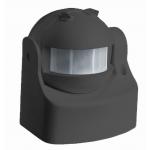 Fali mozgásérzékelő 180º-os, 2-12m távérzékelő Fekete, IP44 - VT277/B